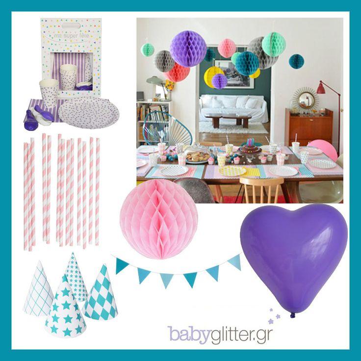Super καλοκαιρινά παιδικά πάρτι με αξεσουάρ από το babyglitter.gr ! http://babyglitter.gr/accessories/party/