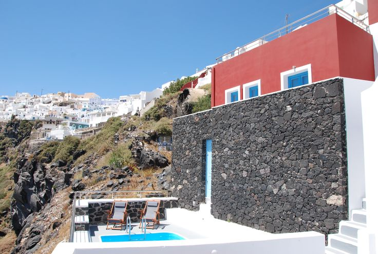 Hara's houses at Imerovigli, Santorini