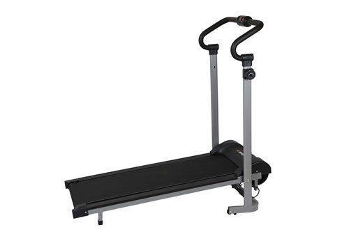 Confidence offer Confidence Fitness Magnetic Manual Treadmill. The Confidence Magnetic treadmill offers unbeatable value for those who want to work out in the convenience of their own home. With 8 adjustable magnetic resistance levels and a simple and easy folding/storage mechanism, this is the ideal personal running machine.