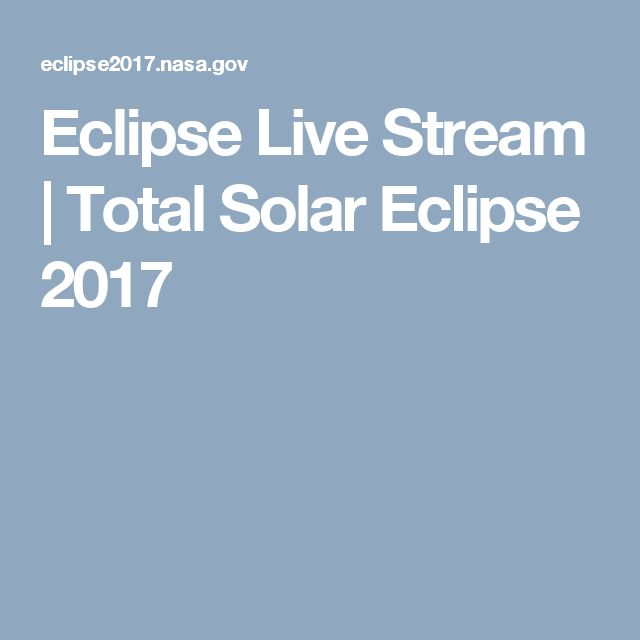Eclipse Live Stream | Total Solar Eclipse 2017