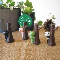 데꼴 나무그늘 카드스탠드 (4종) ※ 예쁜 DECOLE 메모꽂이, 명함 홀더, 집게, 추천, 책상, 사무실, 인테리어 소품