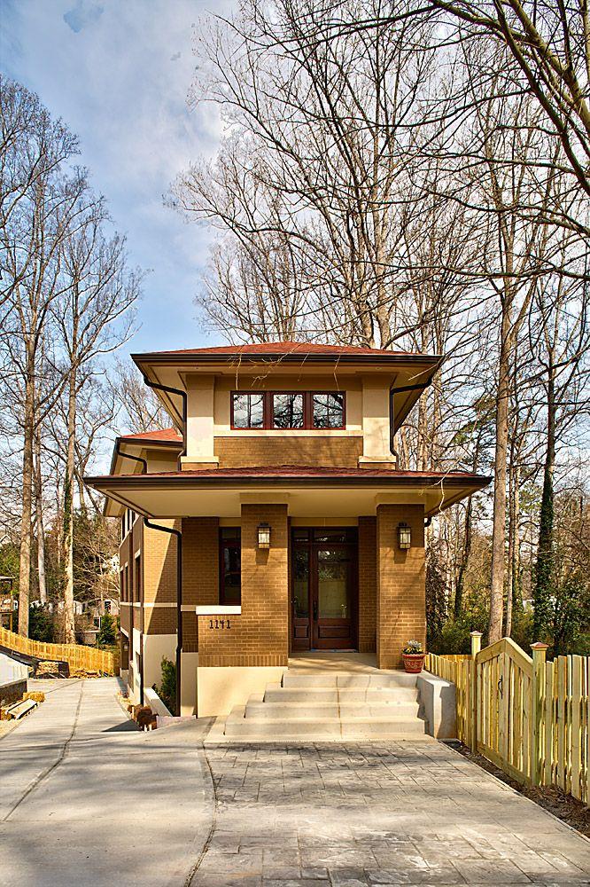 1141 Lanier Blvd. | Jones Pierce Architects Prairie Style home Va.Highlands.