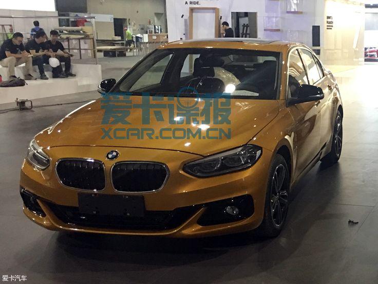Седан BMW 1: первые фото четырехдверного БМВ 1 Серии