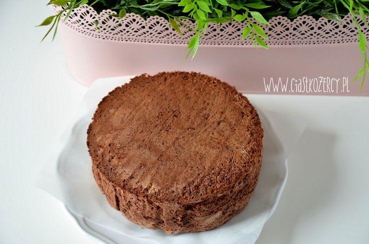 Prosty biszkopt czekoladowy 10