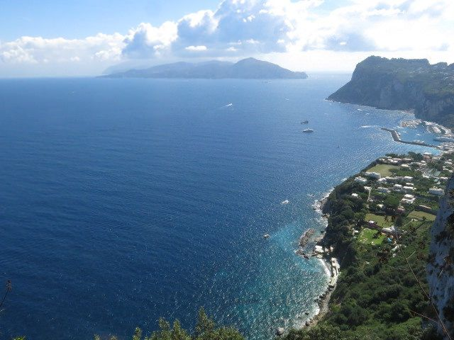 """Capri: vista dall'Hotel """"Caesar Augustus"""""""