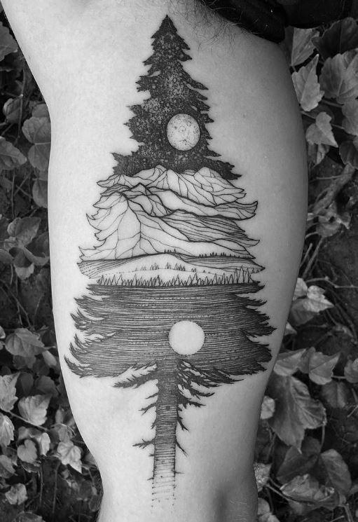 Alaskan Nights Tattoo
