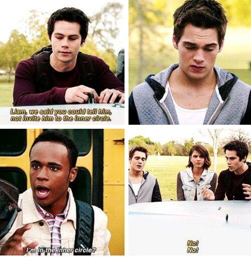 Teen Wolf season 5 - Stiles, Liam, and Mason