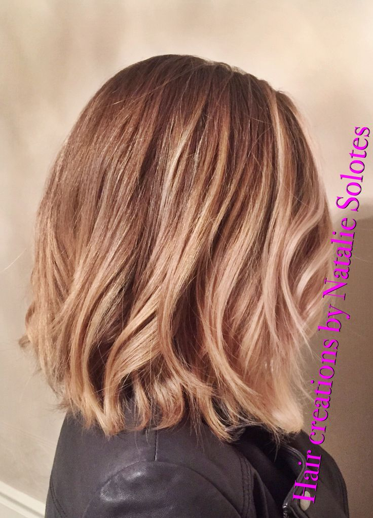 Wavy bob soft a line aline haircut lived in hair and ...