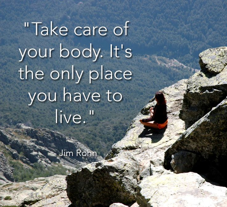 The Cor Blog - Take care of your body