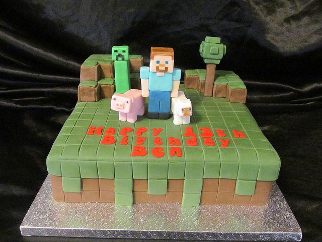 minecraft cakes | minecraft cake | Flickr - Photo Sharing!