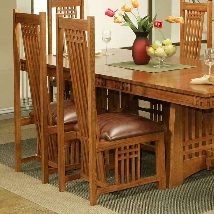 Craftsman Style Dining Room Furniture: 140 Best Images About Craftsman Style Chairs On Pinterest
