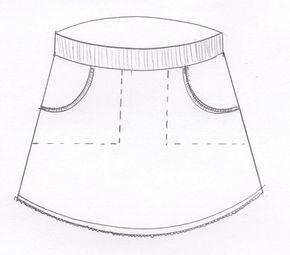 Werkbeschrijving tricotrokje LindaWat heb je nodig voor meisjes?Tricotstof, boordstof, leuke kantjes of bandjes en pyama elastiek.Hieronder staat aangegeven wat je ongeveer nodig bent.Voor de maten 68/74-92/98:Tricotstof 30 cm, boordstof 15 cm, halve meter pyama-elastiek 2,5 cm breed, kantje of bandje kleine meter. Met 0,25 cm verlengen voor gebruik randje zakje.Voor de maten 104/110-140/146:Tricotstof 40 cm, boordstof 15 cm minimaal 30 cm dubbel breed, 60 cm pyama-elasti...