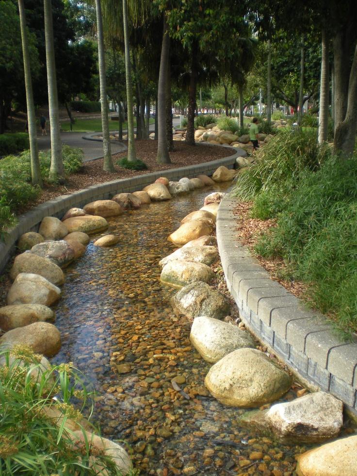 Southbank brisbane queensland by andrea george for Landscape architect brisbane