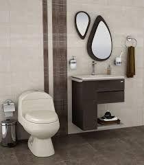 Resultado de imagen para baños con piso marron