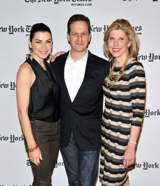 "Josh Charles Christine Baranski Photos: 2012 NY Times Arts & Leisure Weekend - TimesTalks With The Cast Of ""The Good Wife"" & Errol Morris"