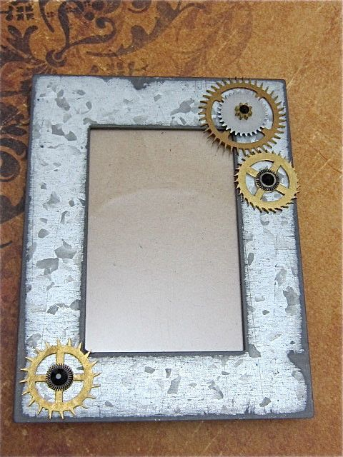Steampunk Frame A Moment In Time Recycled Upcycled