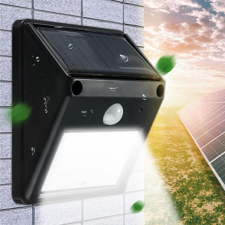 Solar Powered Motion Activated Flood Lights | Solar Powered Security Light with Motion Sensor