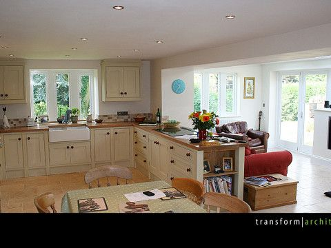 Kitchen Diner Living Layout Example ExtensionsHouse