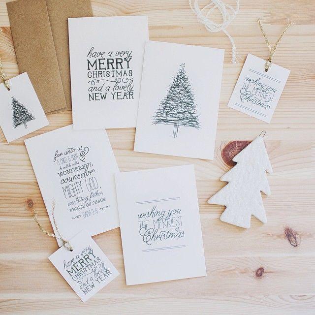 Lahjapaketointia ja joulukortteja   Start living your best life