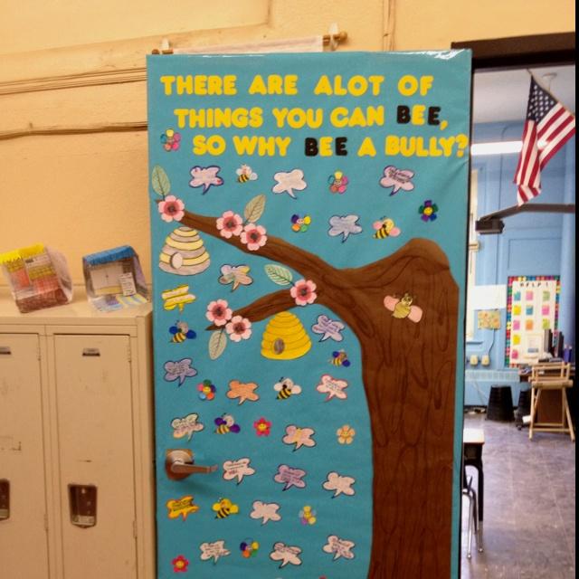 Anti-Bullying door! #bully #antibully #antibullying