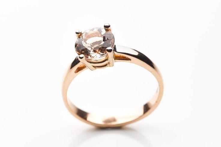 Morganite engagement ring, bespoke, custom, handcrafted