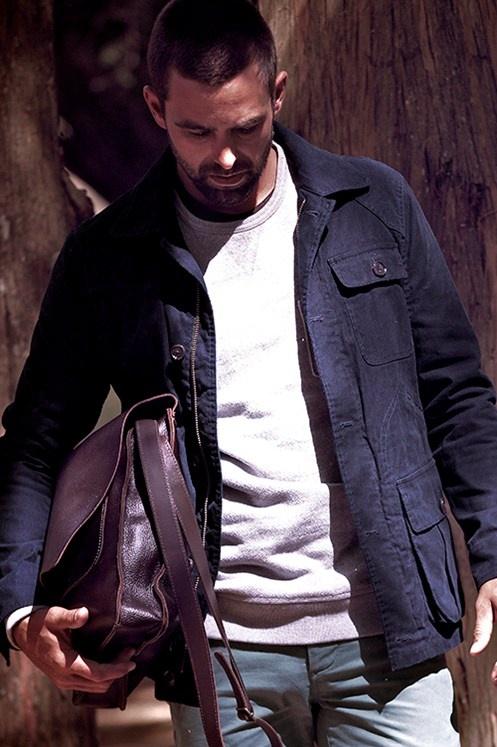 #barkers #menswear #leather #satchel