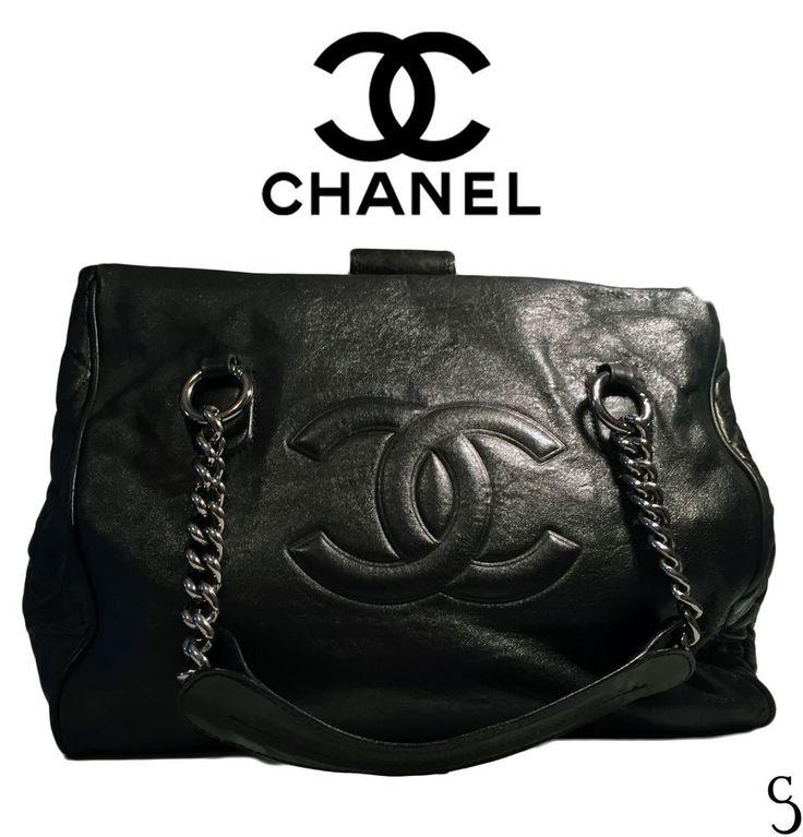 Chanel Amazing Women Leather Black Doctor Bag #CHANEL #ShoulderBag