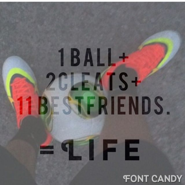 The 11 best friends thing is bothering me... If you are only counting you soccer team on field thats 10 best friends... But usually you have more than 11 on a full team... What... - Love to bet on sports? Start here !!!