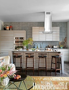 Fresh, contemporary, eclectic kitchen