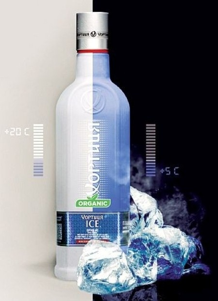 Packaging Europe News - Chilling Colour Changing Bottle Design Wins Award