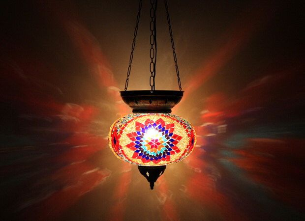 Lamp, Mosaic Lamp, Handmade Lamp, Hanging Lighting,Turkish Lamp, Night Shade, Mosaic Glass Lights, blue, yellow and red, by Tribalarthome on Etsy https://www.etsy.com/listing/227740826/lamp-mosaic-lamp-handmade-lamp-hanging