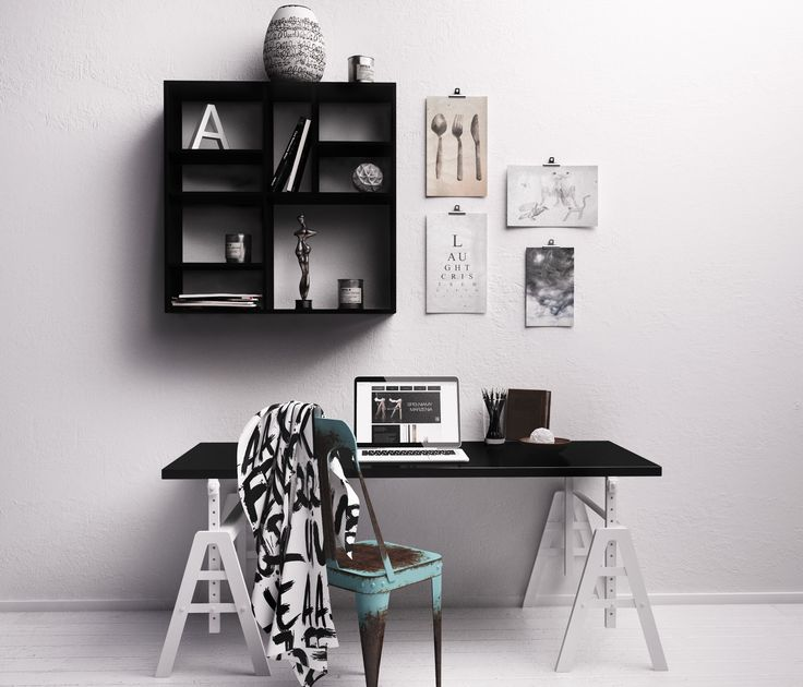 desk for architect? not neccesary. desk and shelf by nobo design