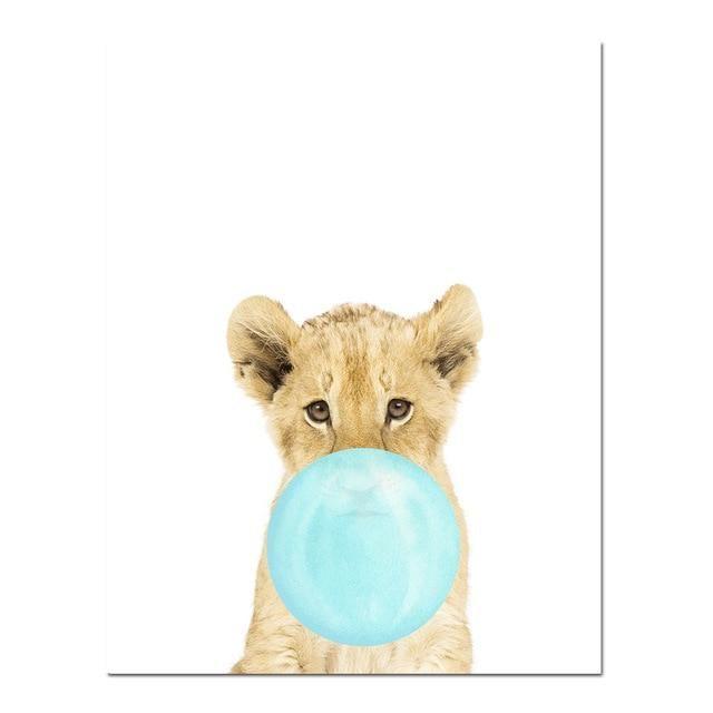 Lion Bubble