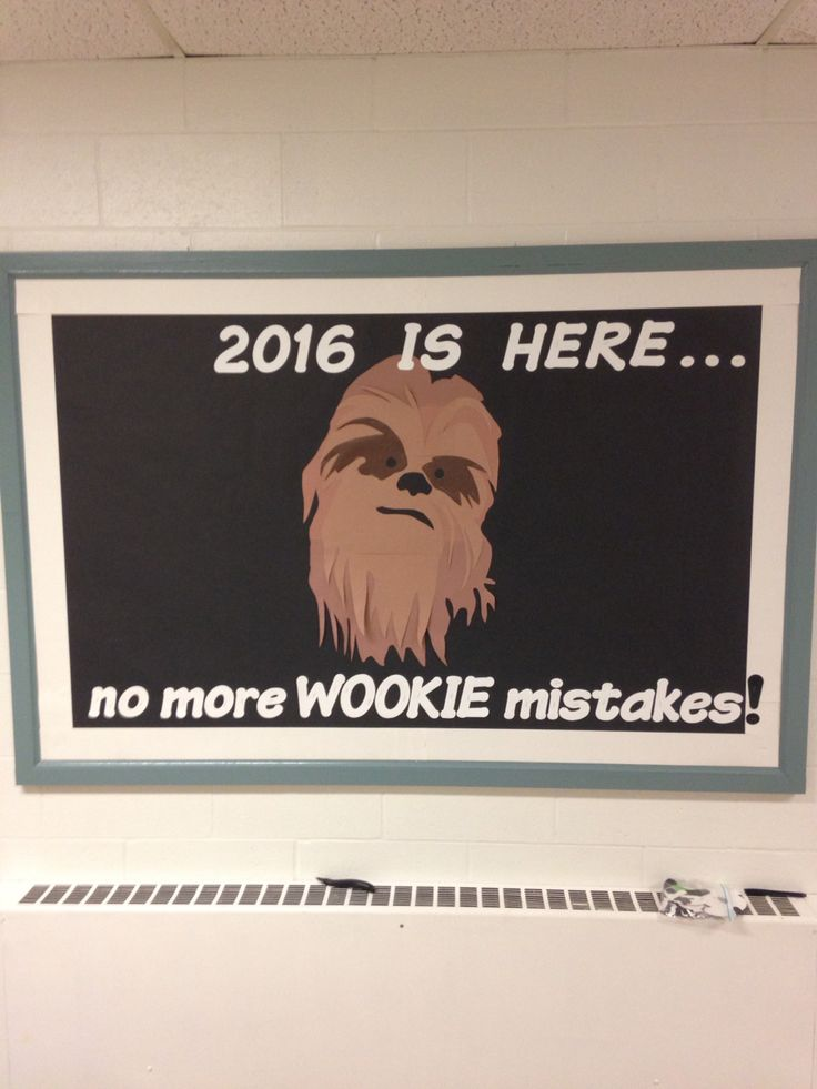 Let your students see your inner Star Wars Nerd