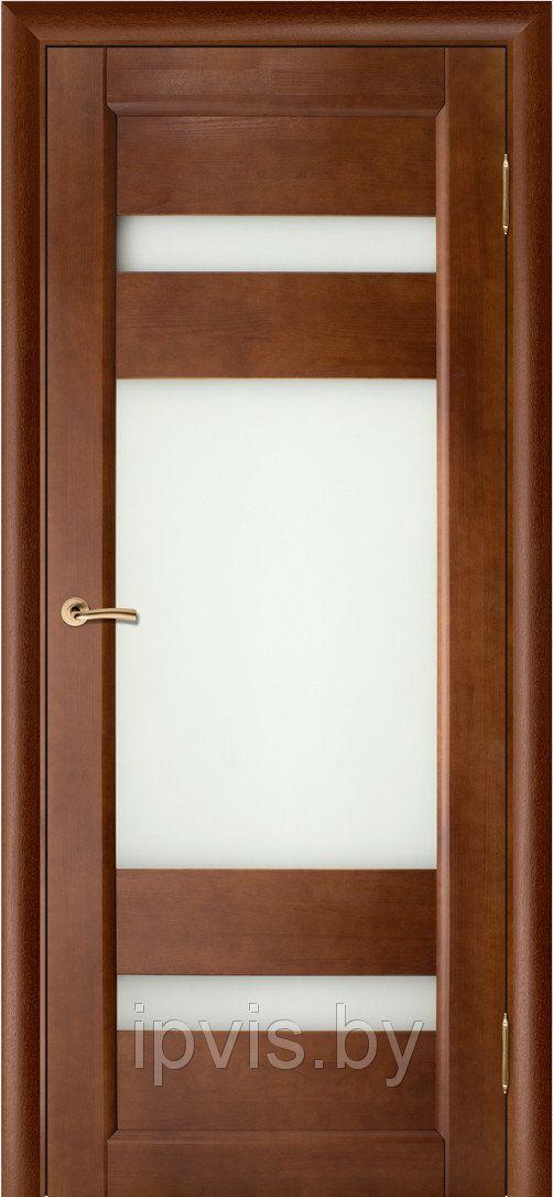 Двери межкомнатные Вега-2 темный орех (Вилейка) в г. Гомель. Отзывы. Цена. Купить. Фото. Характеристики.