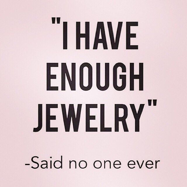 In other words, you can never have enough #secretjewels! #jewelry #fashion