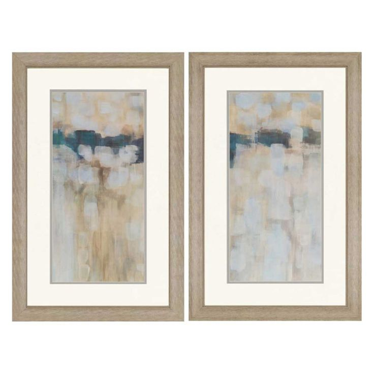 Paragon Decor Carbon Neutral Framed Wall Art - Set of 2 - 3512