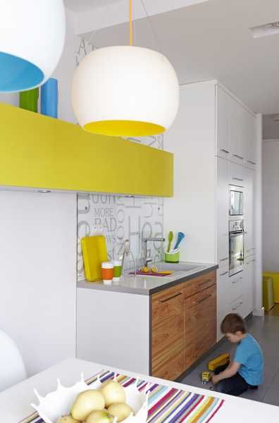 Modern Interior Design and Decor in Minimalist Style Jazzed Up by Pop Art Energy