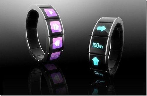 Future Watch, F. Bertran, futuristic watch, watch Concept, gadget, device, tech, technology, innovation, facebook, gps, watch,
