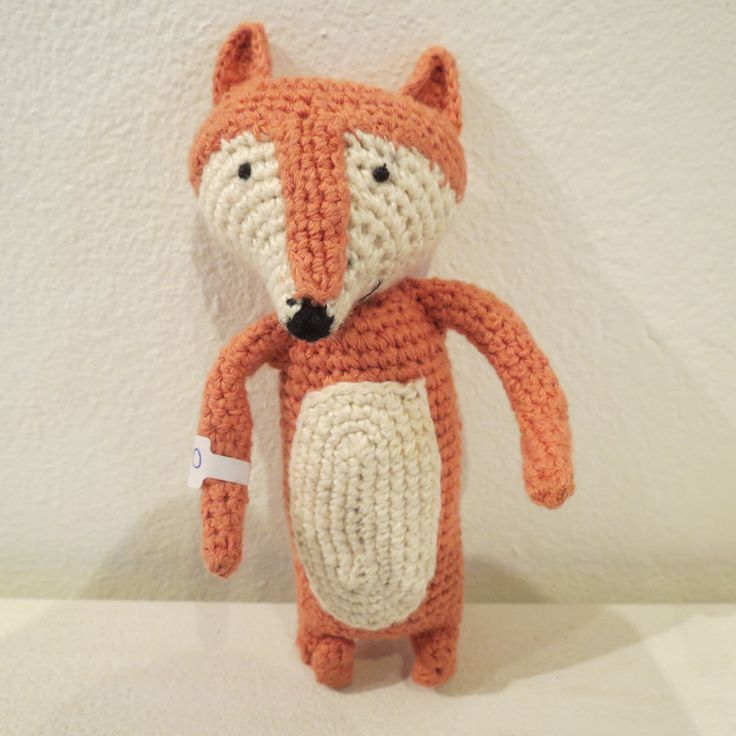 Crochet animals crafted by a women's collective at Kim Sacks Gallery Johannesburg