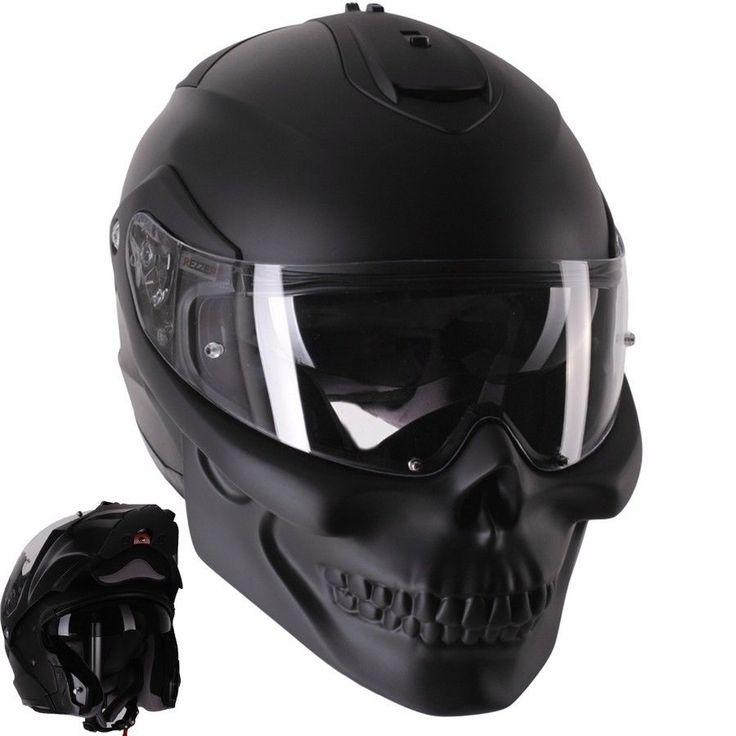 Casco de motocicleta cráneo Modular Personalizado | eBay Motors, Piezas y accesorios, Ropa y mercancía | eBay!