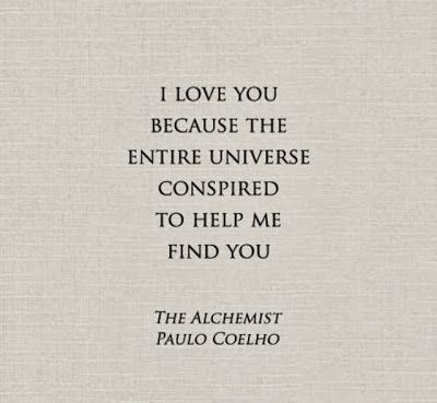 The Alchemist Quote / Insight <3