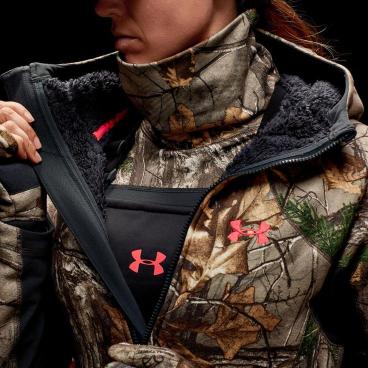 he UA Women's Stealth Kit: Warm, Quiet, Lethal. #AlwaysLethal @Realtree @RamTrucks To shop: http://undrarmr.co/2fvdHXD