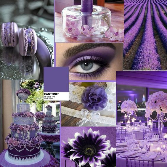 Pantone Color of 2018 - Ultra -Violet