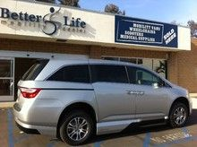 2013 Honda Odyssey EX with In-Floor Ramp System