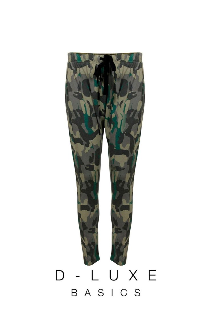 LUXE PRINTED DROP CROTCH PANT