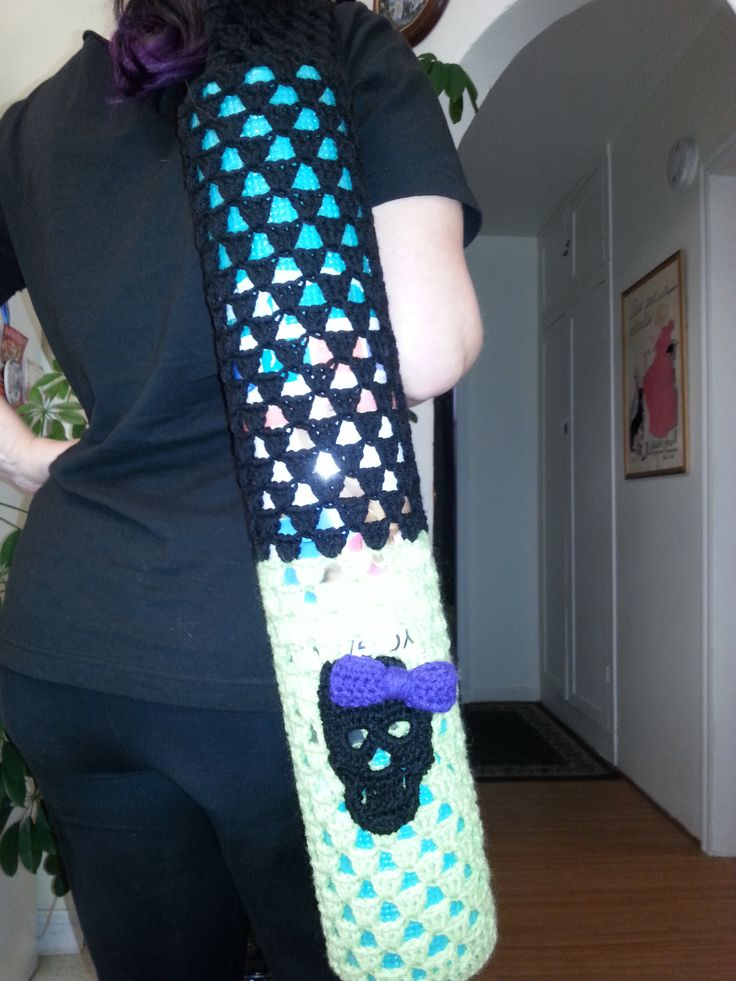 Knitting Pattern Yoga Mat Tote : 1000+ images about Crafts & Embroidery by Patricia ...