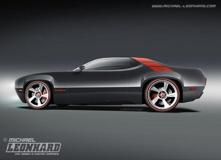2016 Plymouth Roadrunner Concept Car - http://goautospeed.com/2016-plymouth-roadrunner-concept-car-973
