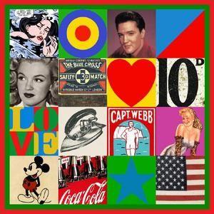 Peter Blake - Series of Pop Art