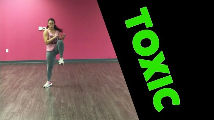 """Enjoy this full body dance fitness routine to one of my faves, """"Toxic"""" by Britney Spears! Thanks for watching! SHARE with your friends and COMMENT below lett..."""